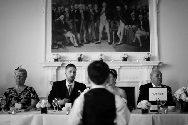 Speeches at the Trafalgar Tavern